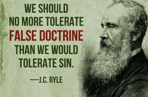 J C Ryle On False Pastors